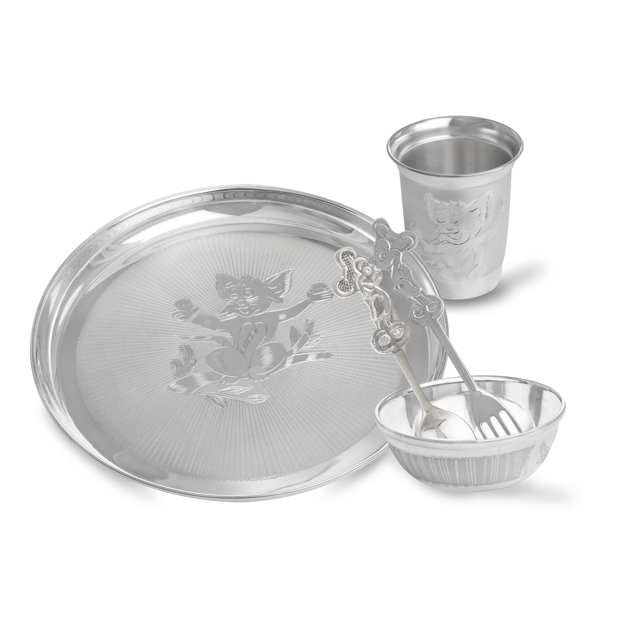 Silver Dancing Mickymouse Set