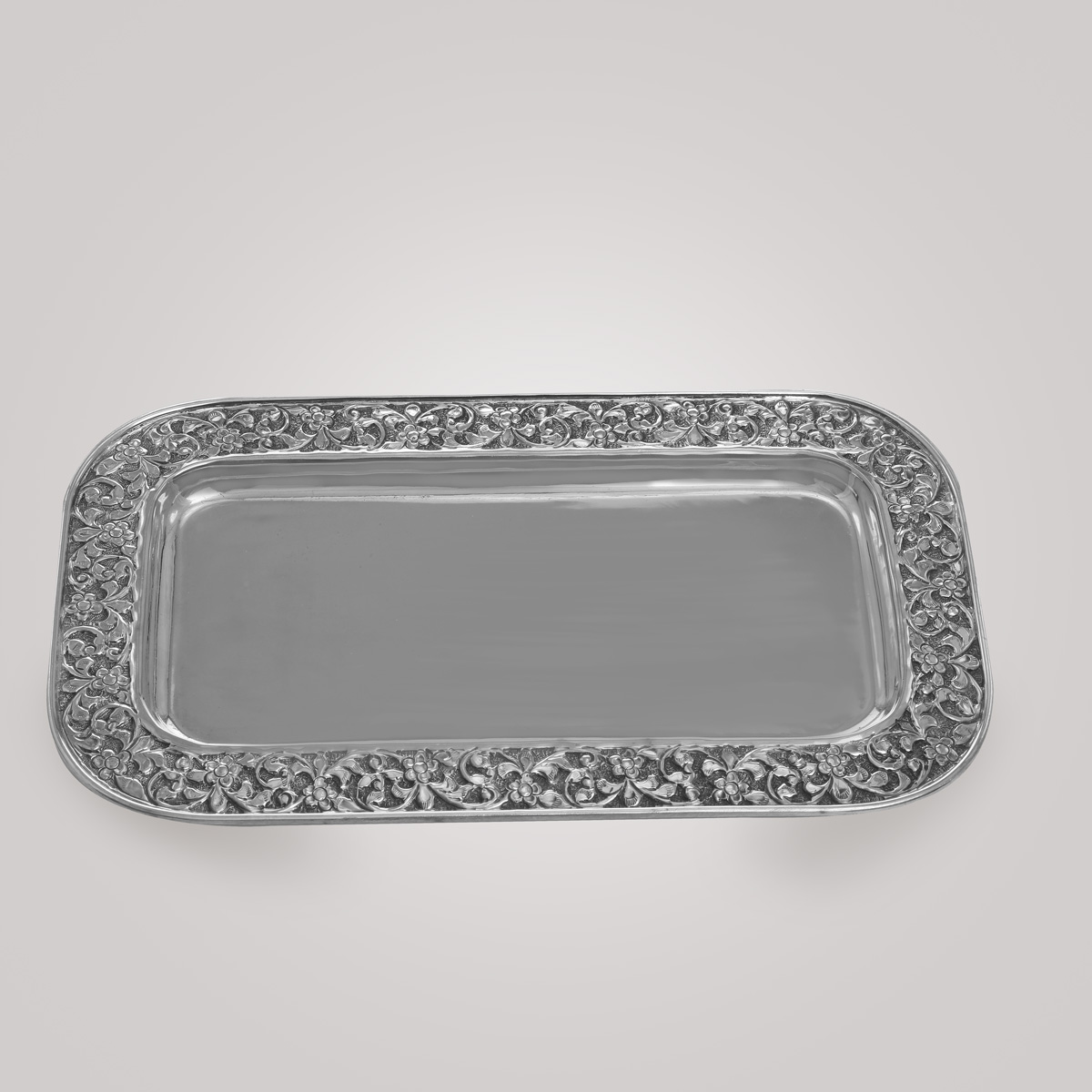 Silver Antique Plate