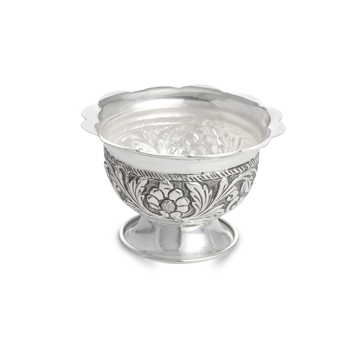 Silver Antique Sandhana Kinnam.