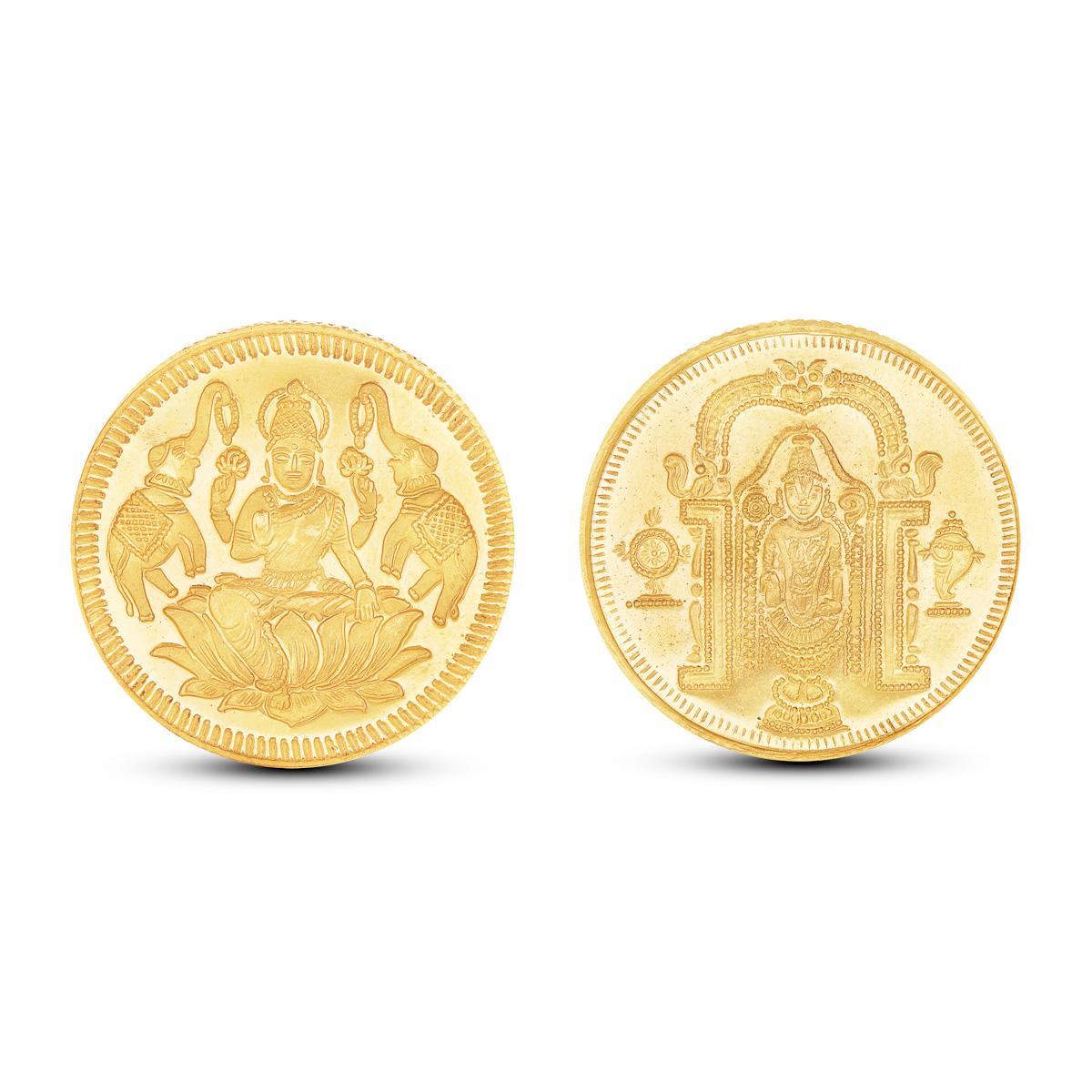10 Gram Lakshmi - Balaji Gold Coin