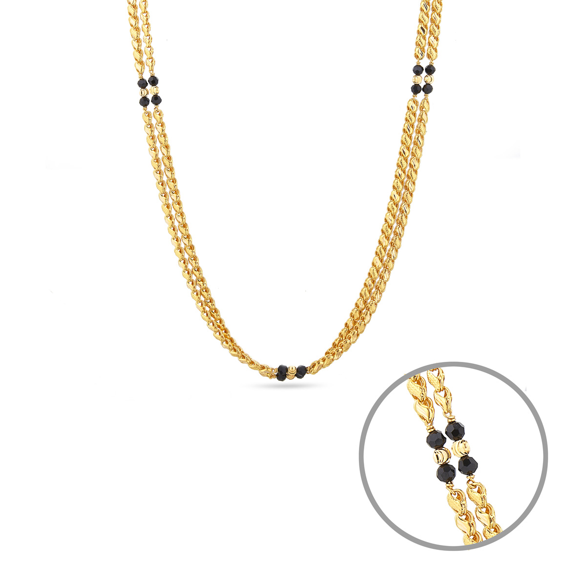 Two Strand Gold Chain