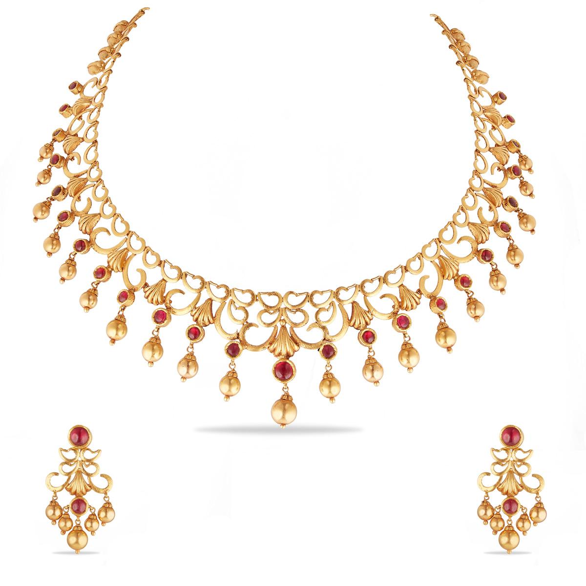 Gorgeous Short Necklace Set