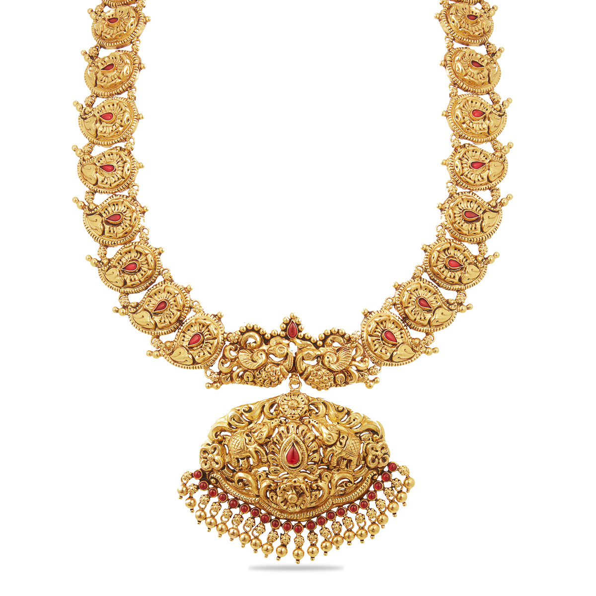 Pretty Necklace with Ethnic Motifs