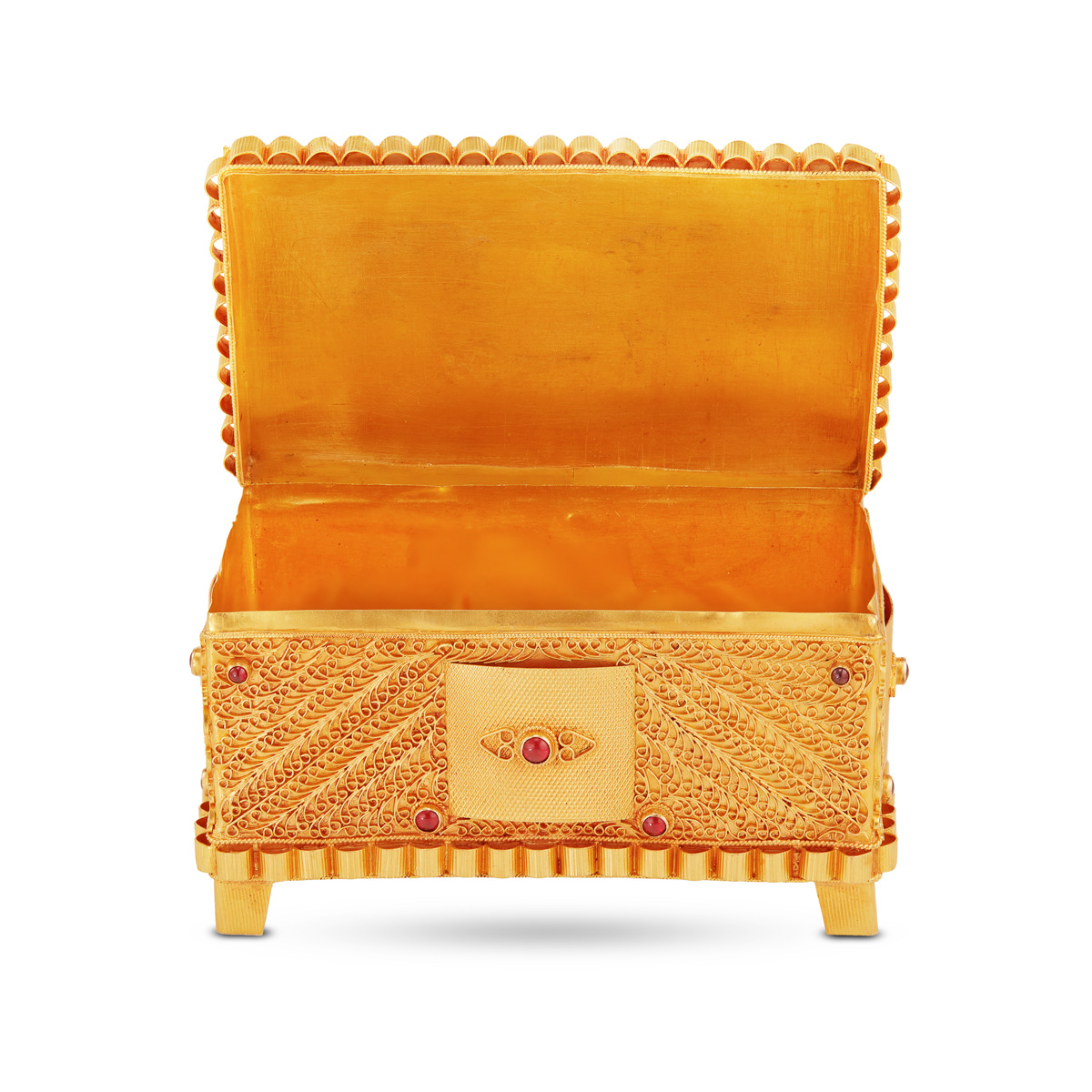 Treasure Box in Gold!