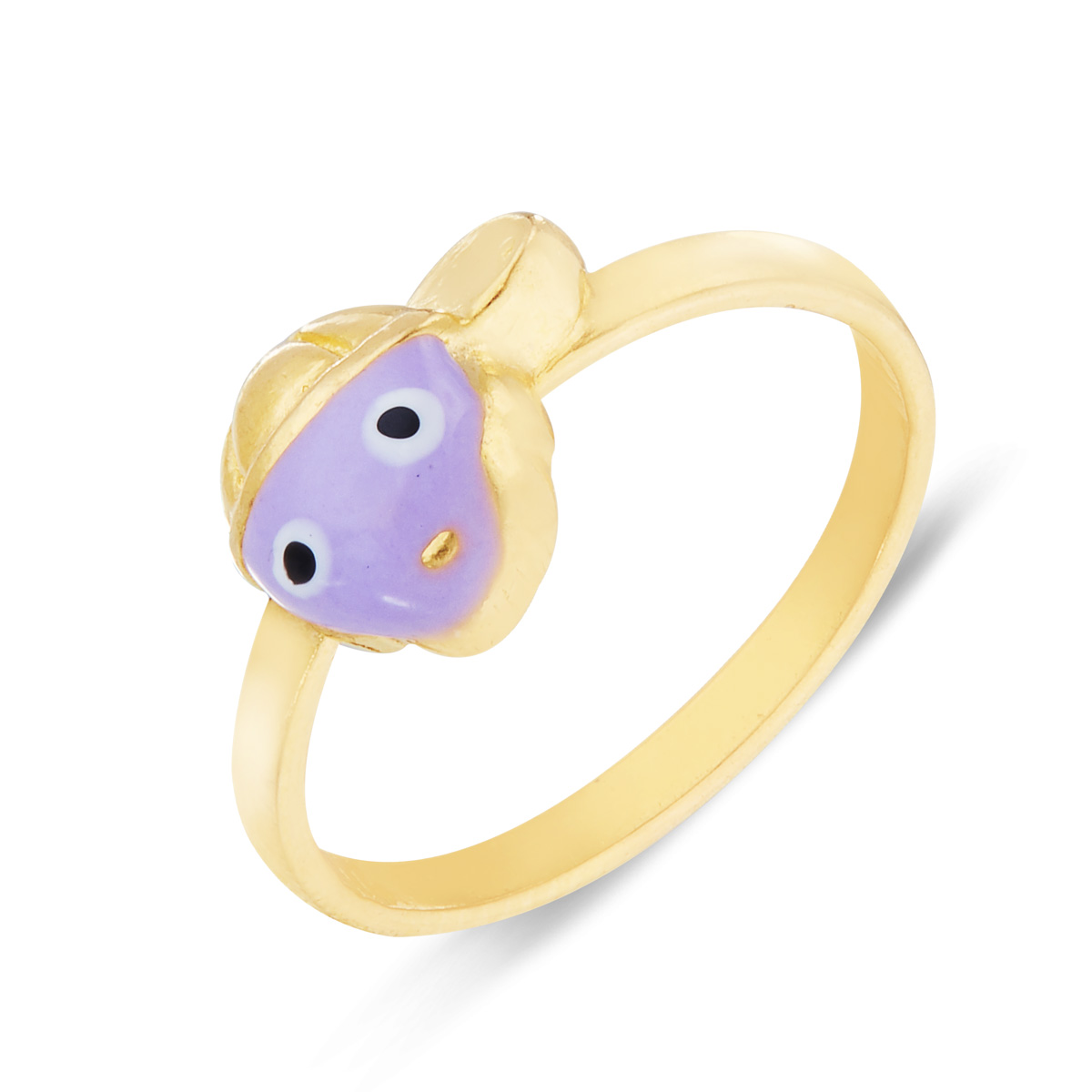 Purple Face Ring