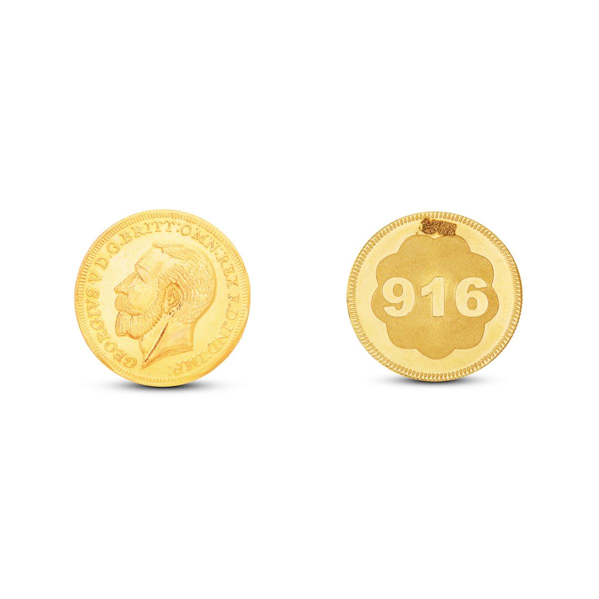 1 Gram Gold Coin