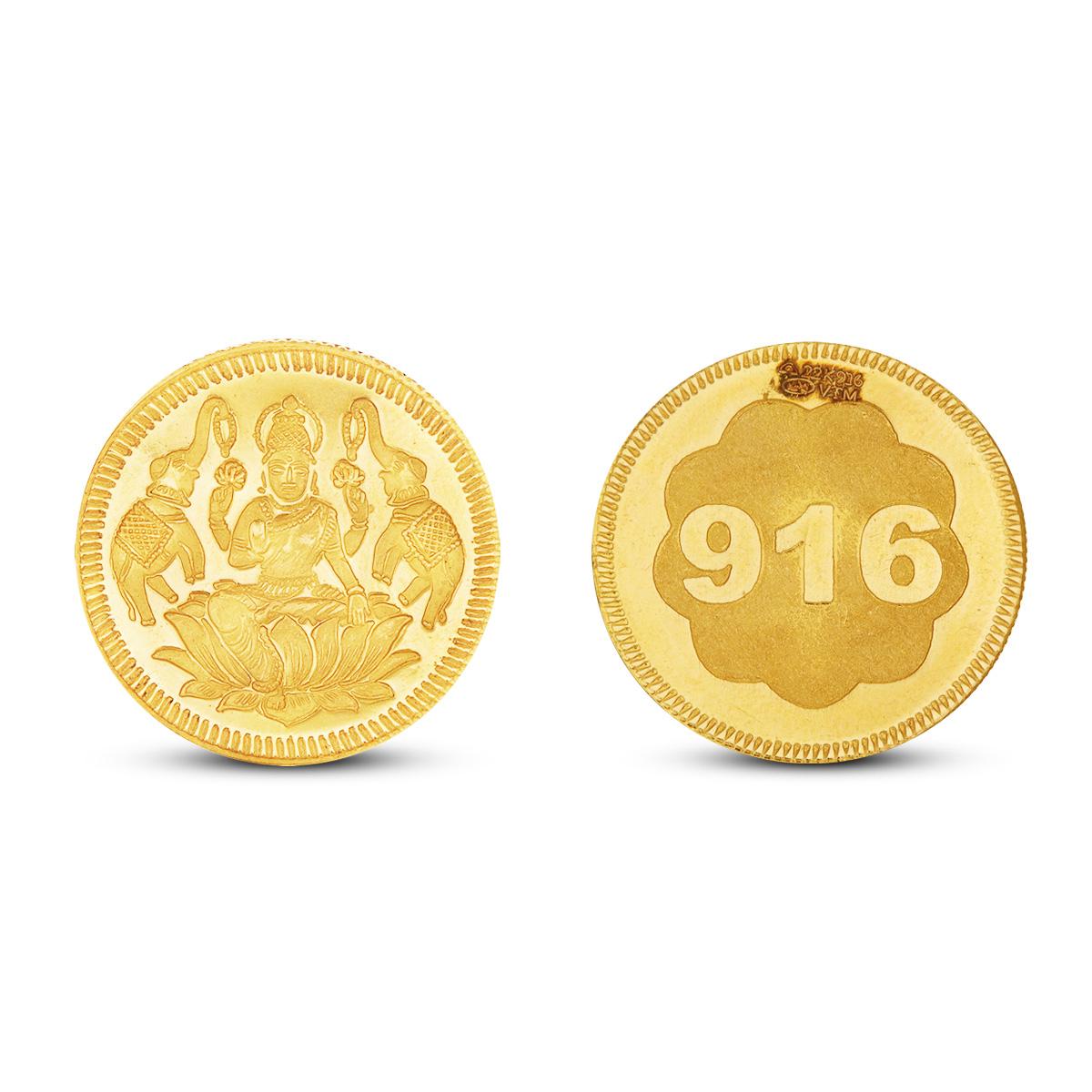 20 Gram Lakshmi Gold Coin