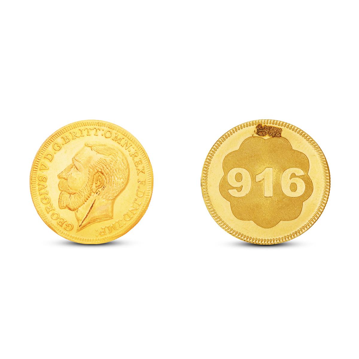 6 Gram Gold Coin