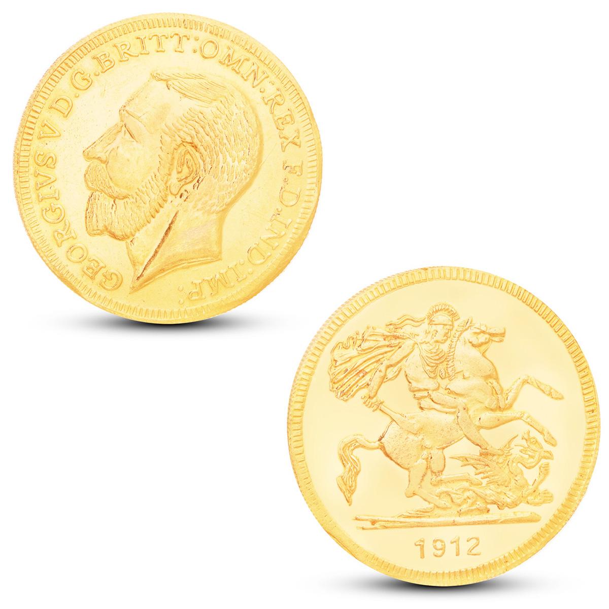 80 Gram Gold Coin