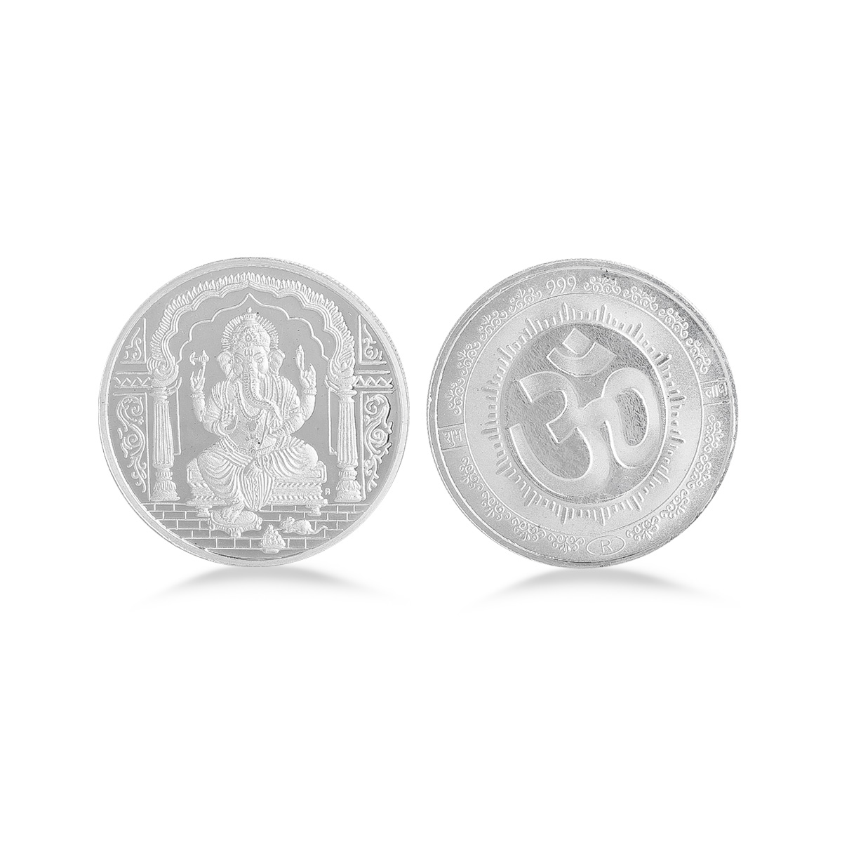 20 Gram Ganesh Silver Coin