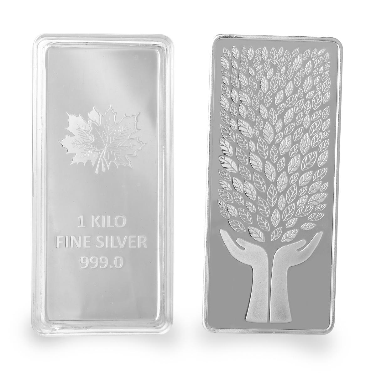 1000 Gram Silver Bar