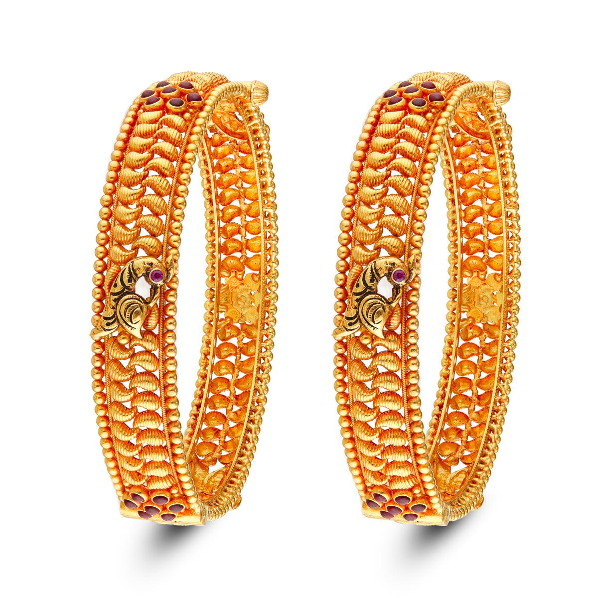 Fancy Gold bangles!