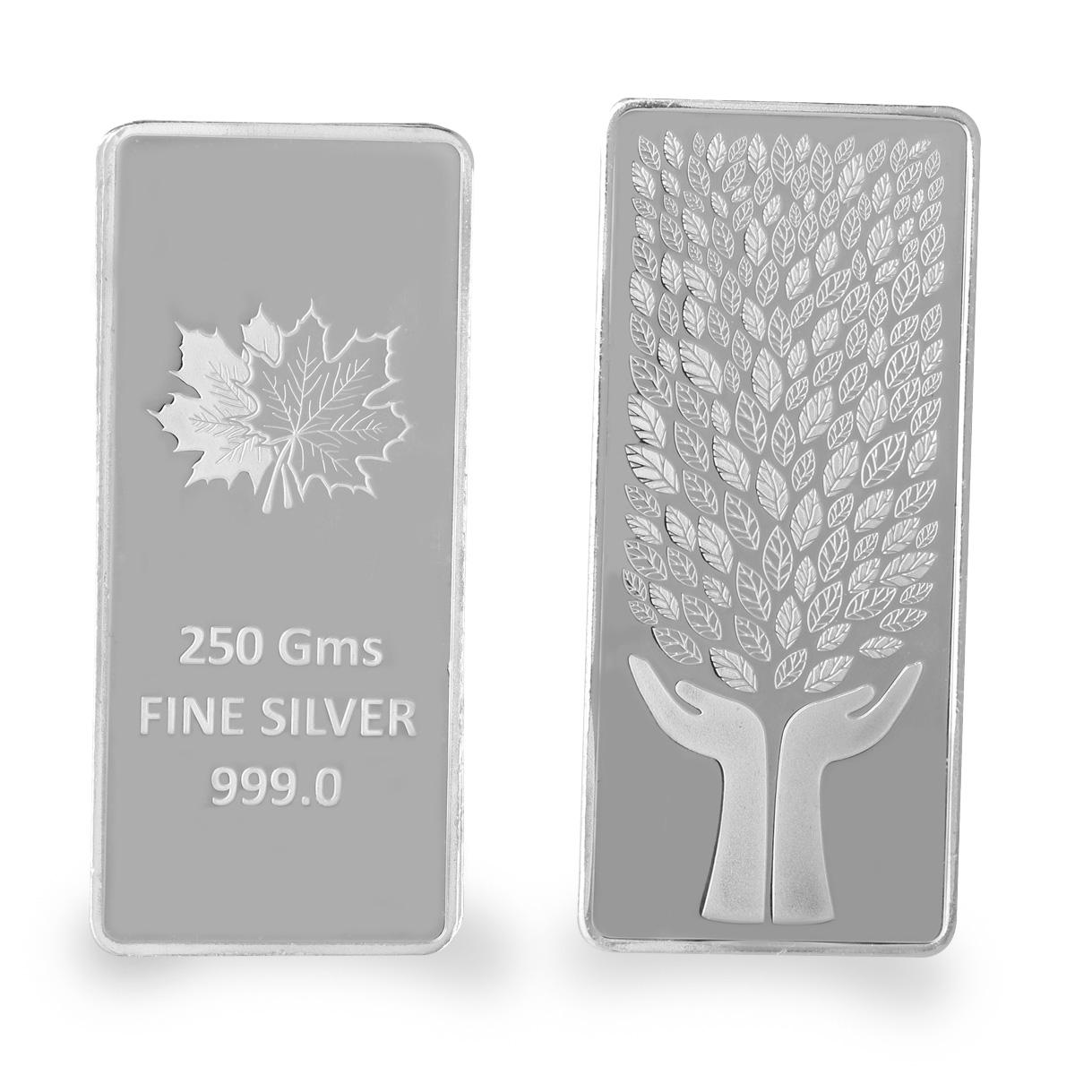 250 Gram Silver Bar