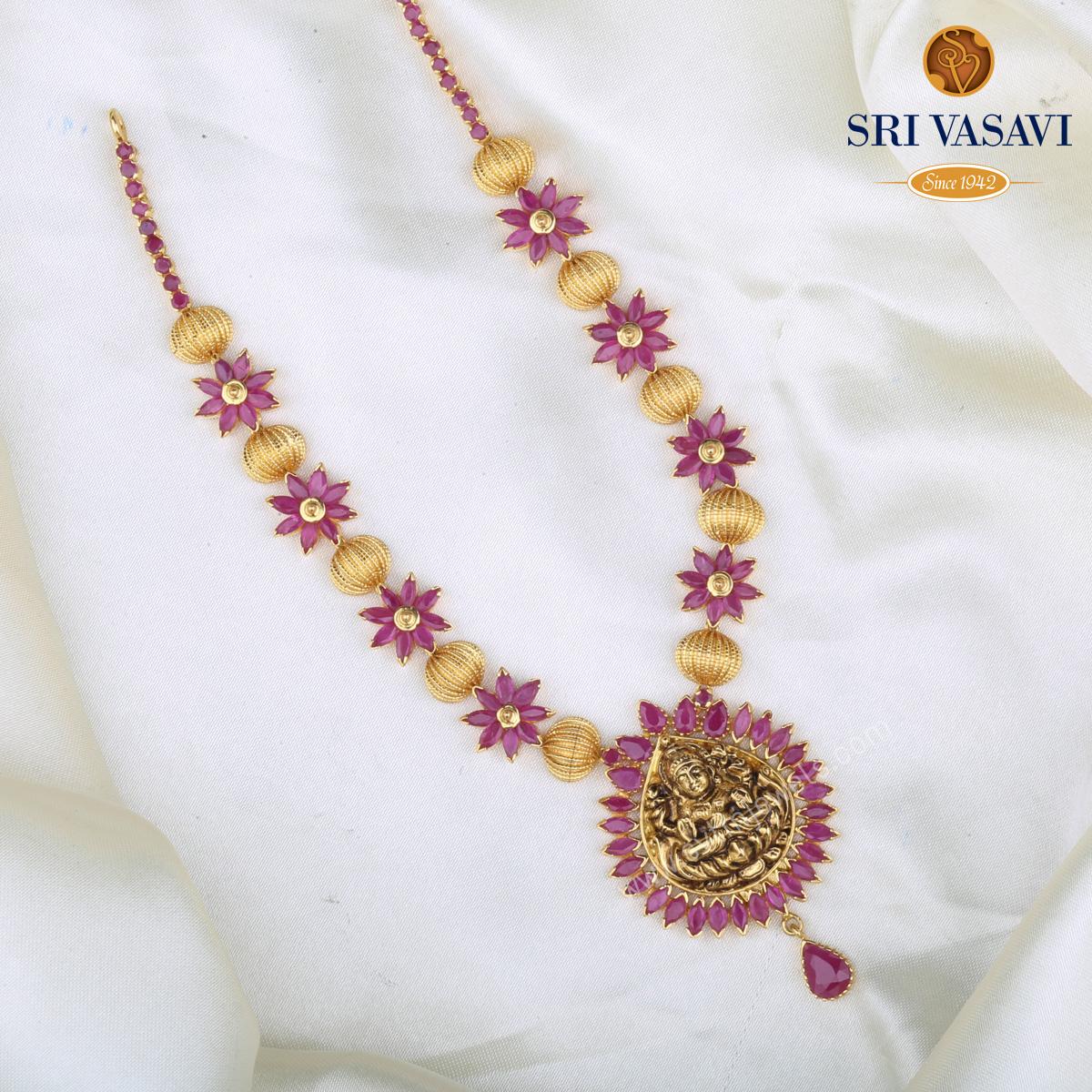 Tripura Short Necklace