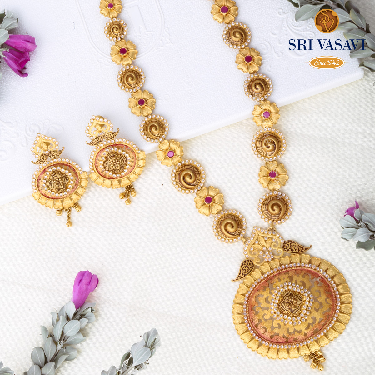 Falderal Necklace set