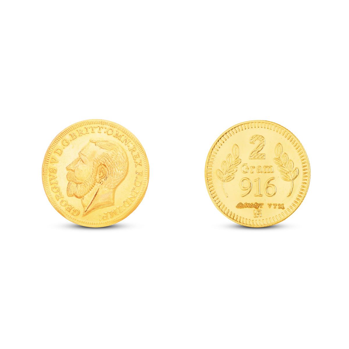 2 Gram Gold Coin