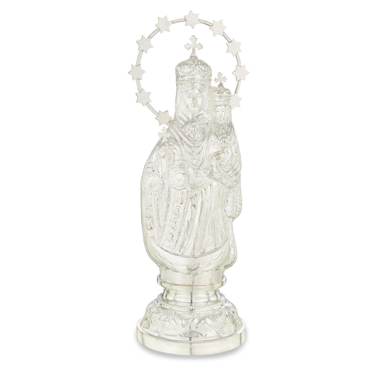 Silver Mary Matha Vigraham