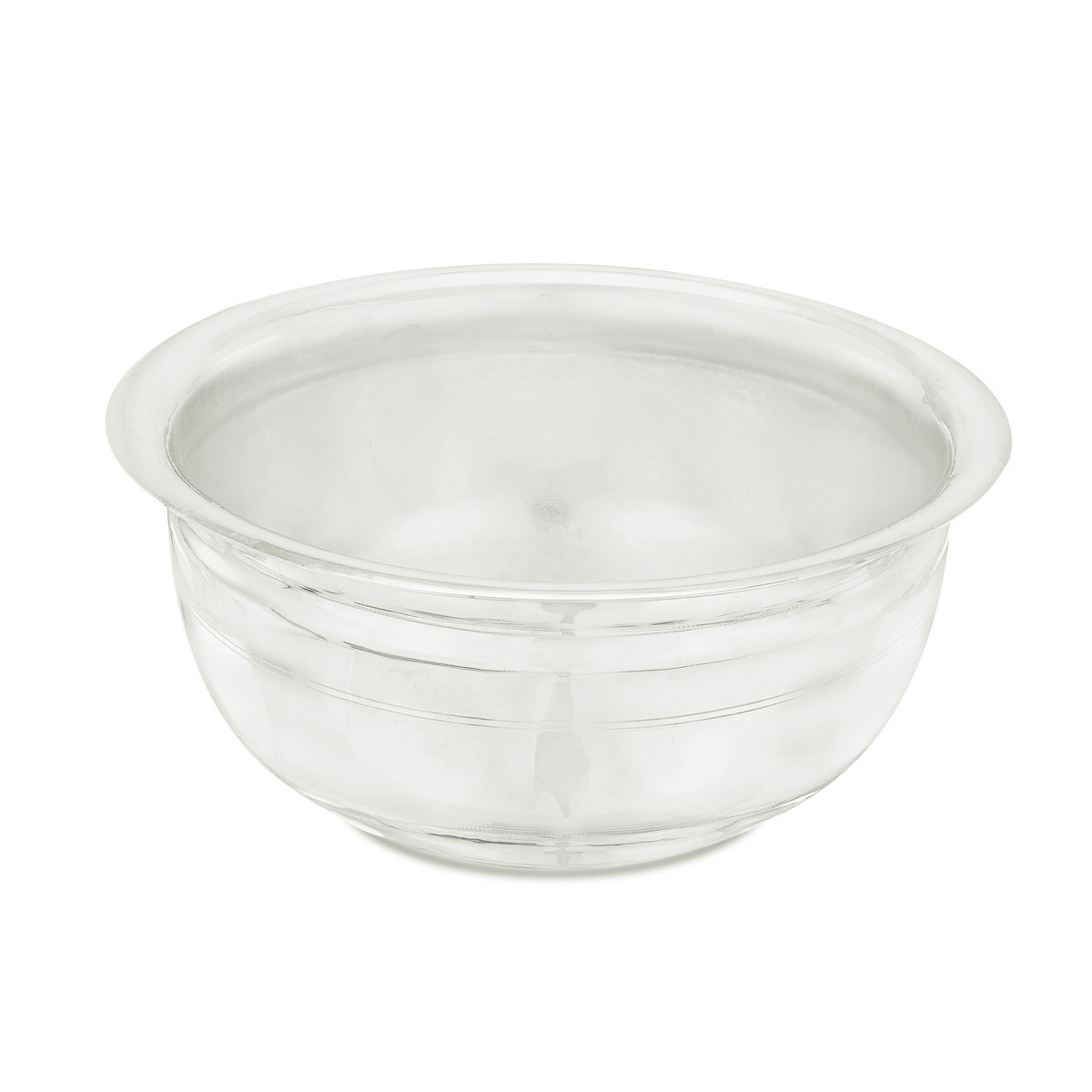 Round Silver Bowl