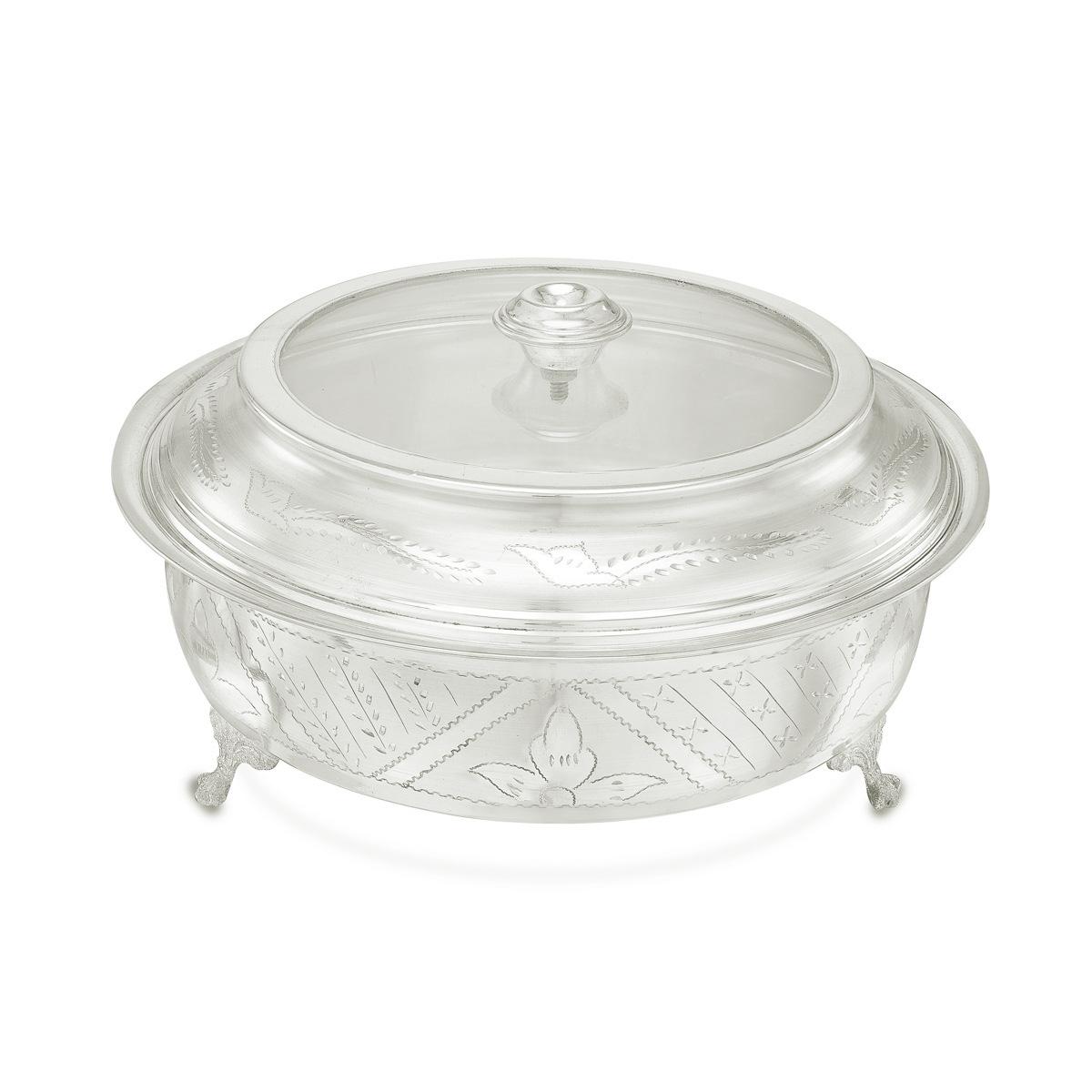 Modern Silver  Hot Box