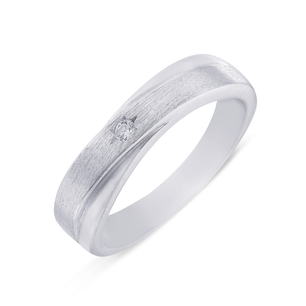 Love Band In Silver