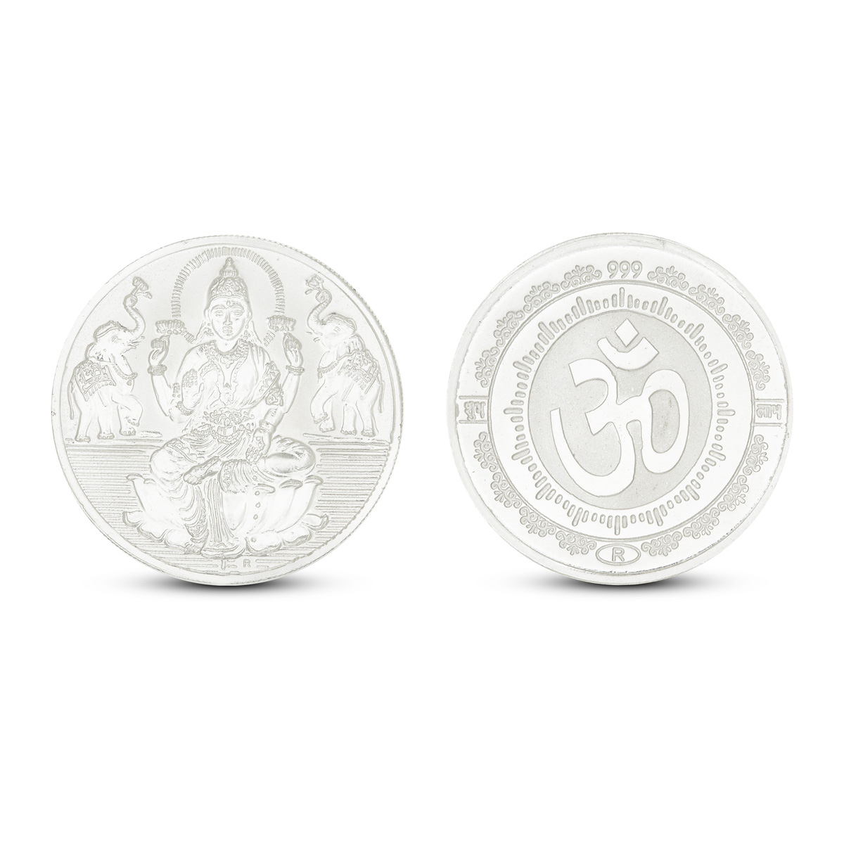 40 Gram Lakshmi Silver Coin