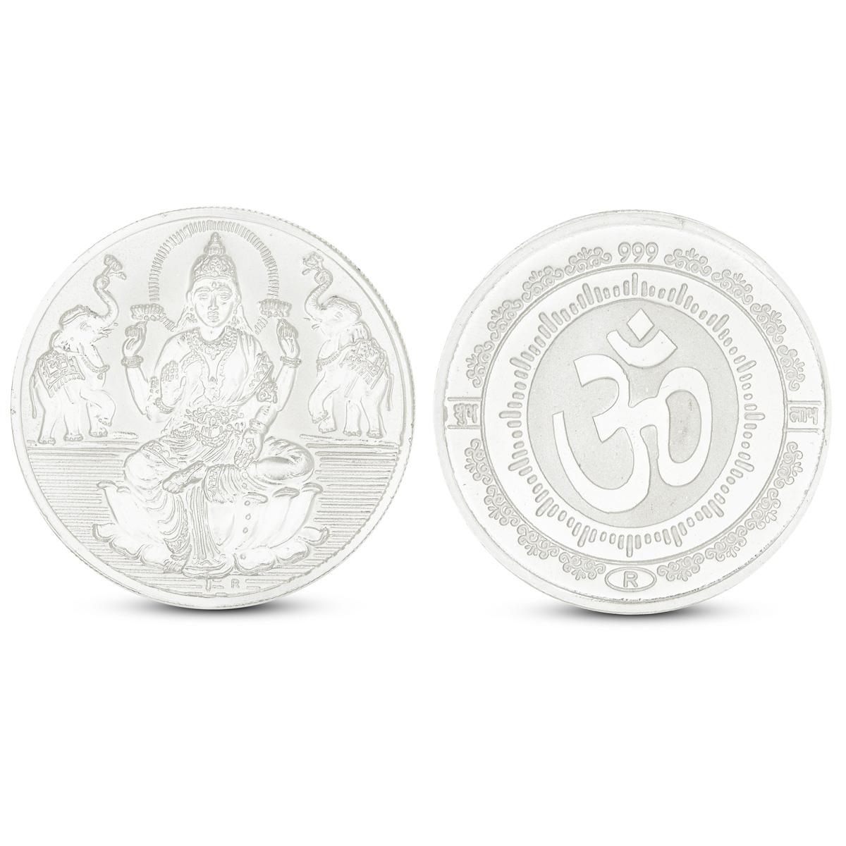 100 Gram Lakshmi Silver Coin