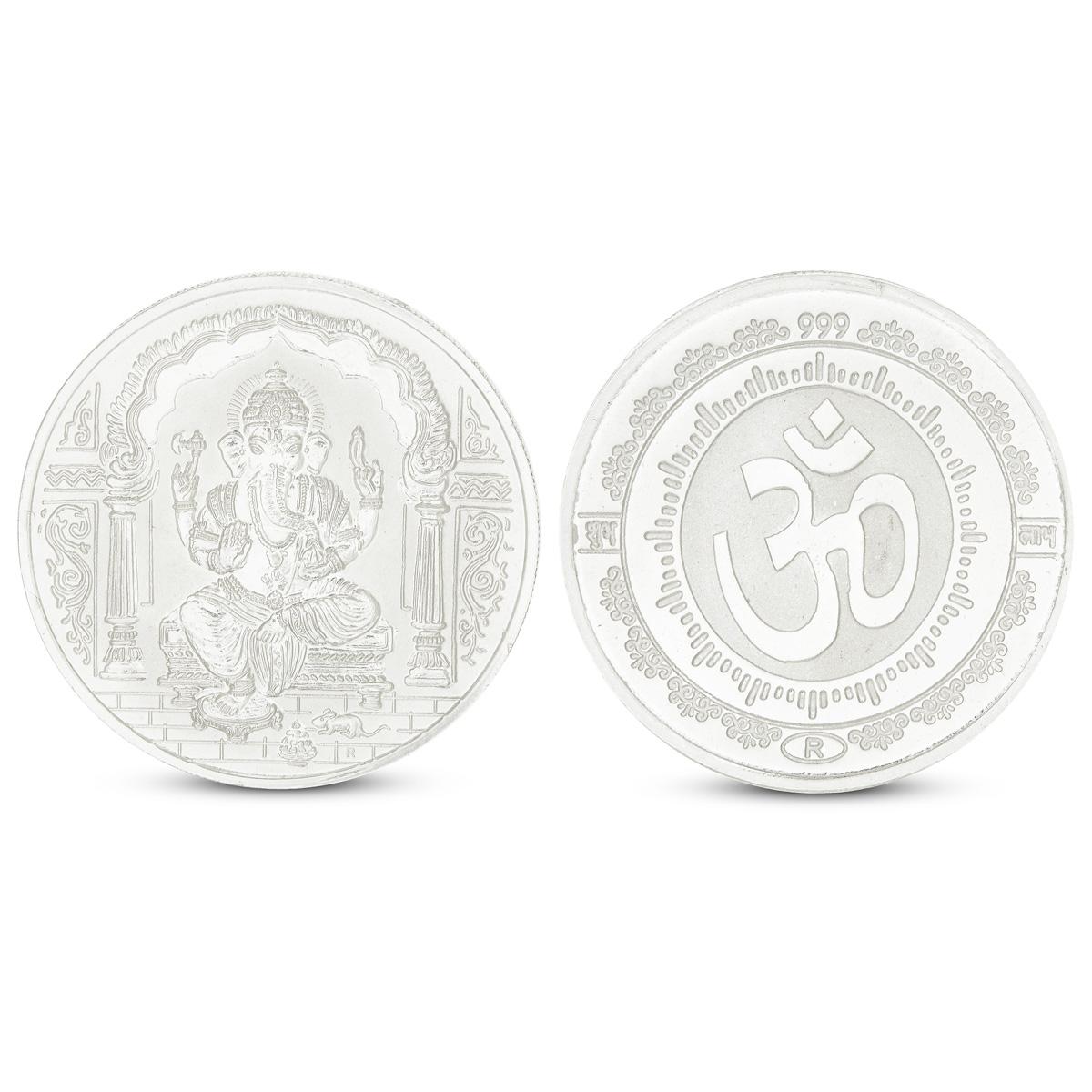 100 Gram Ganesh Silver Coin