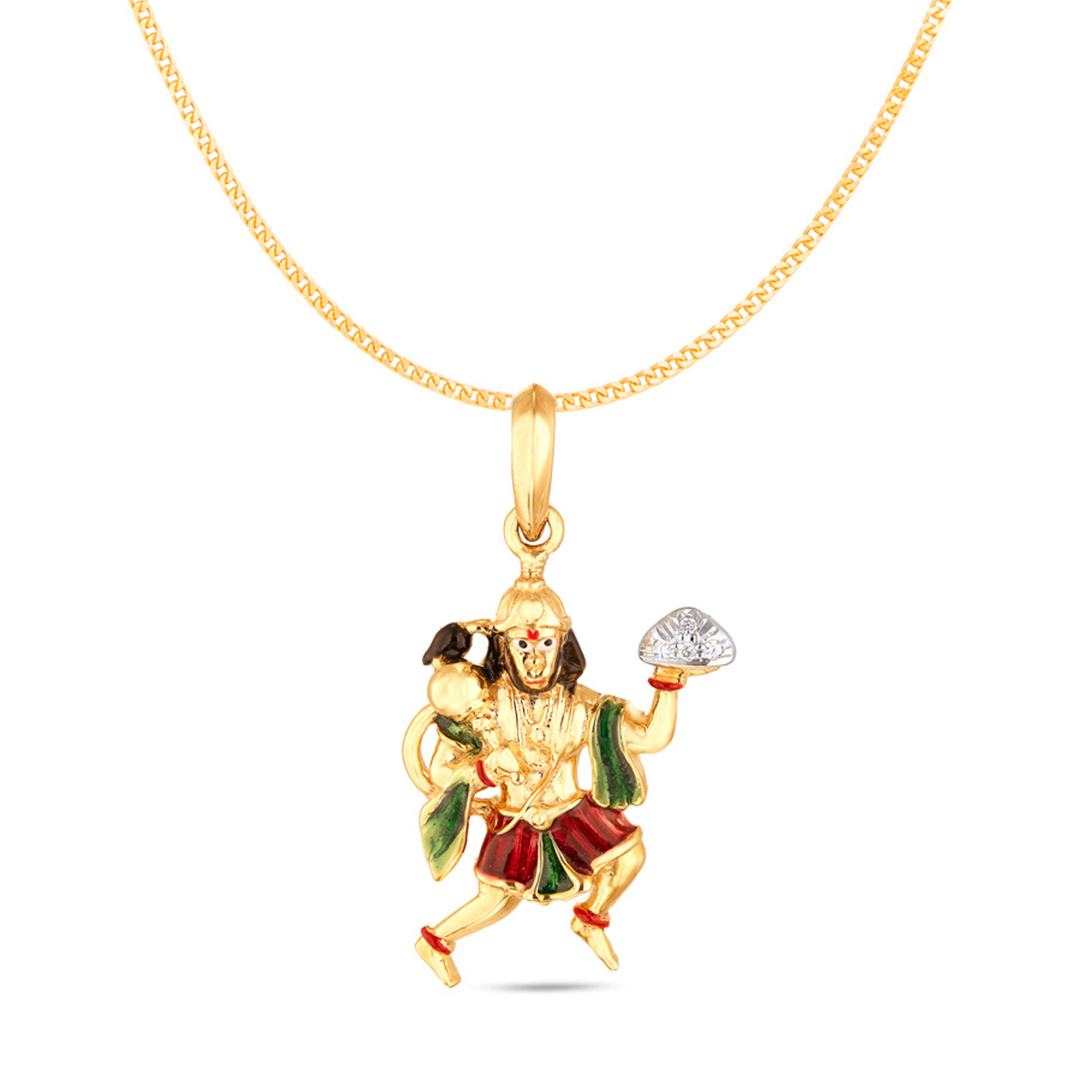 Diamond Studded Hanuman