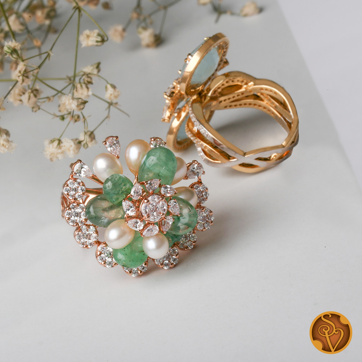 Charming Swarovski Ring