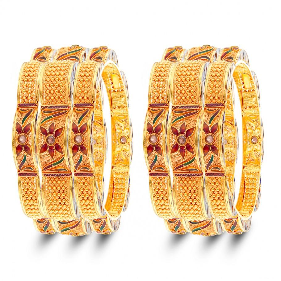 Luxor Gold bangle