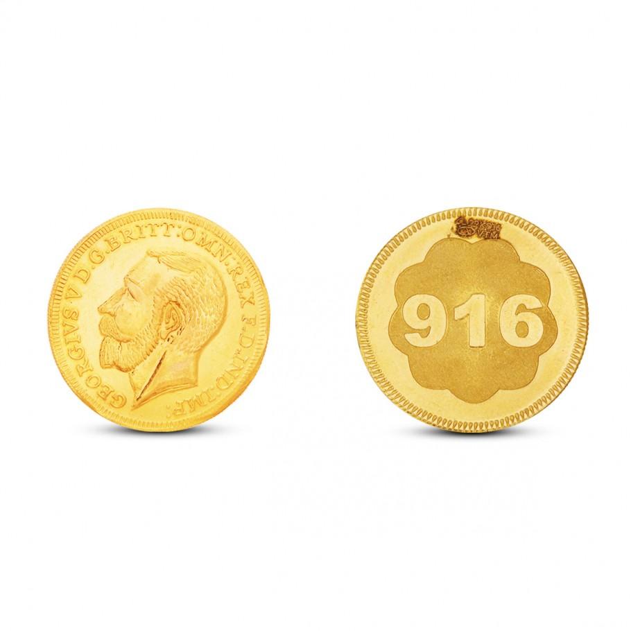 12 Gram Gold Coin