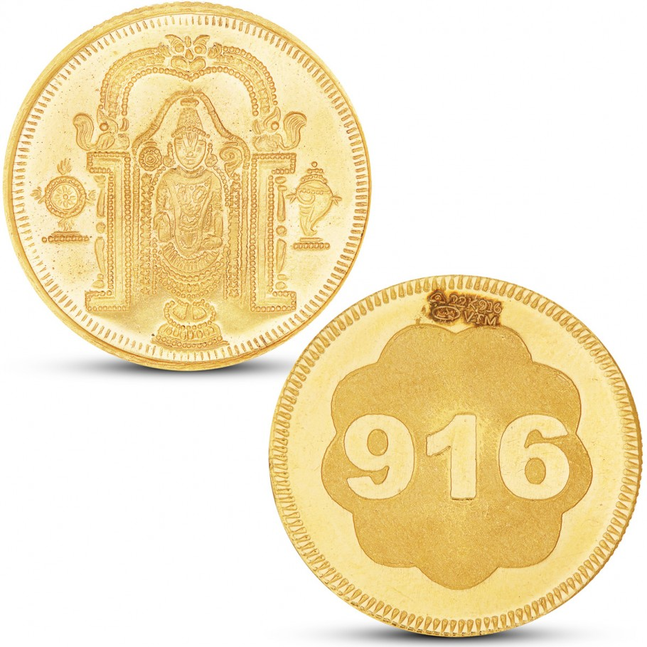 100 Gram Balaji Gold Coin