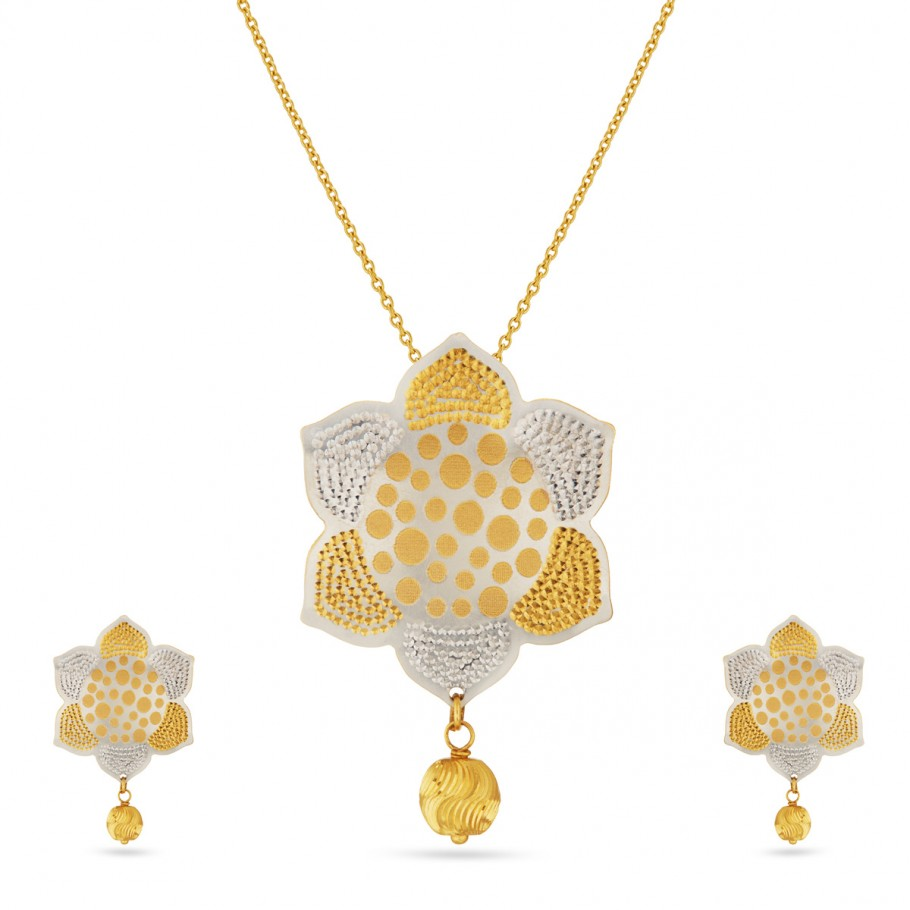 Rangoli Shaped Pendant