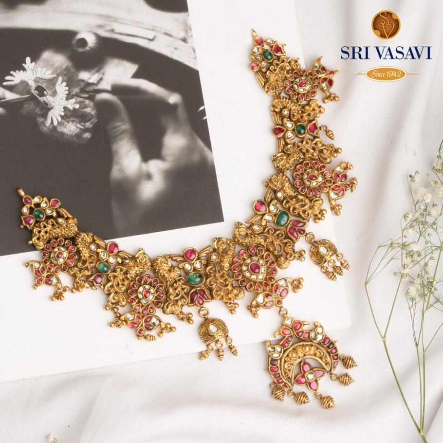 Nrityangana Necklace Set