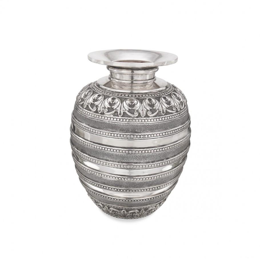 Silver Antique Pot