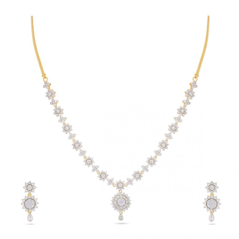 Floral Jewel set