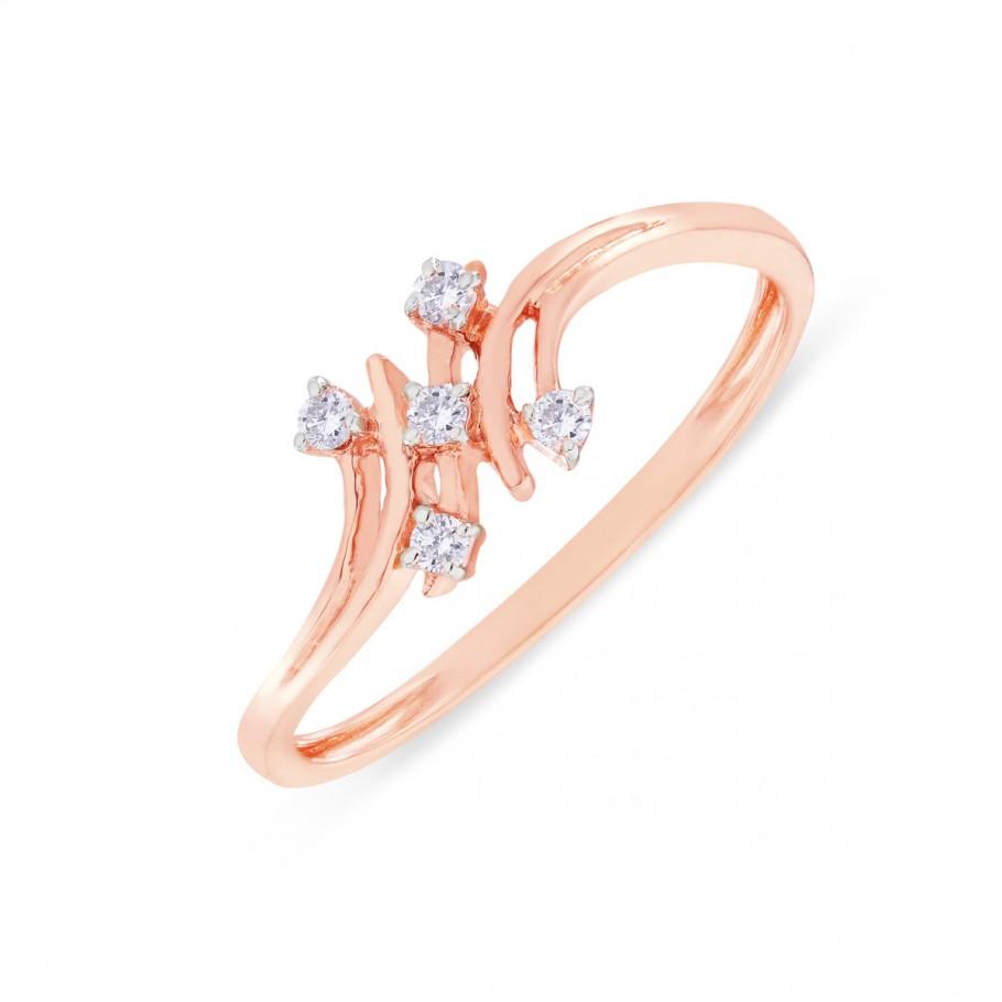 Peculiar Diamond Ring