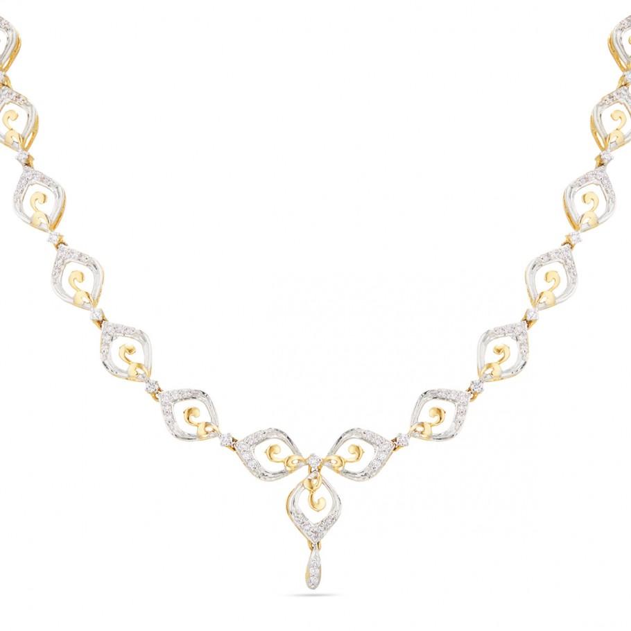 Charismatic Diamond Neckpiece
