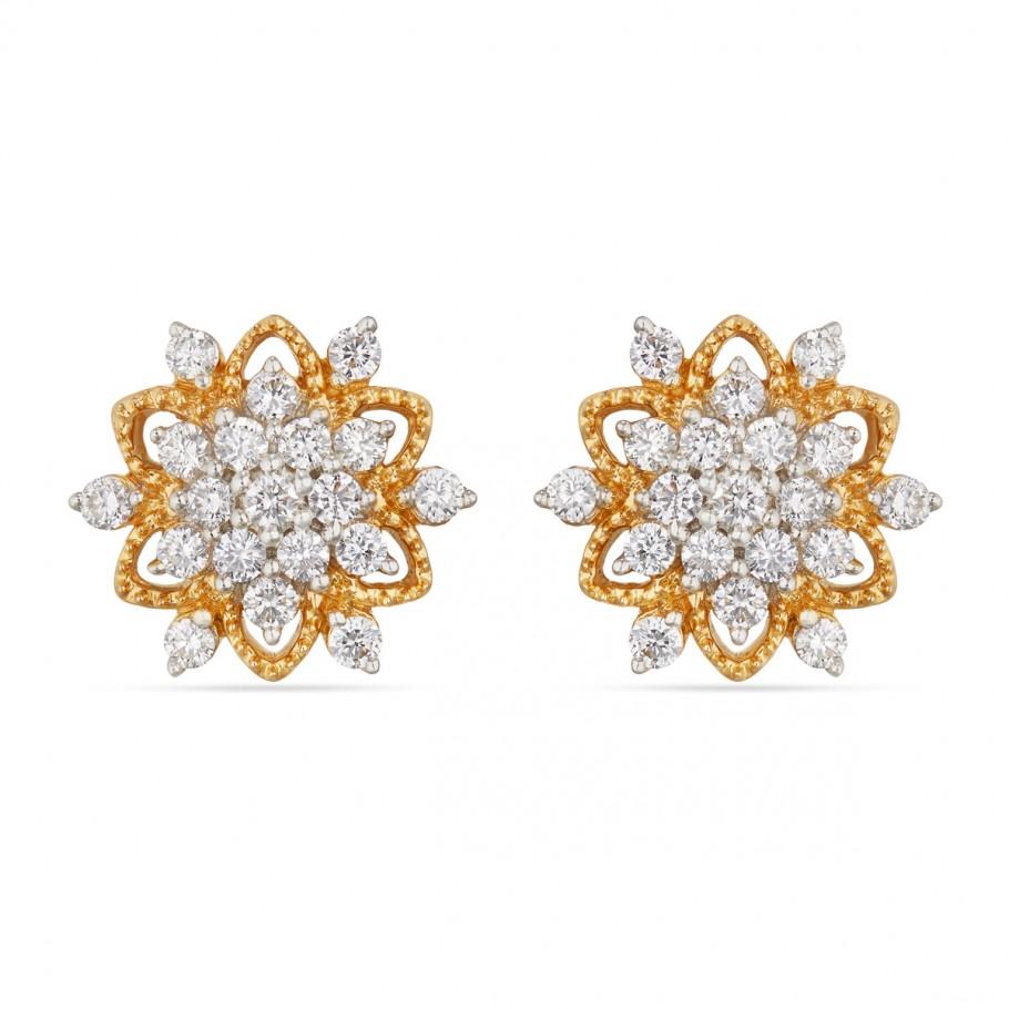 Chowpurna Diamond Earring