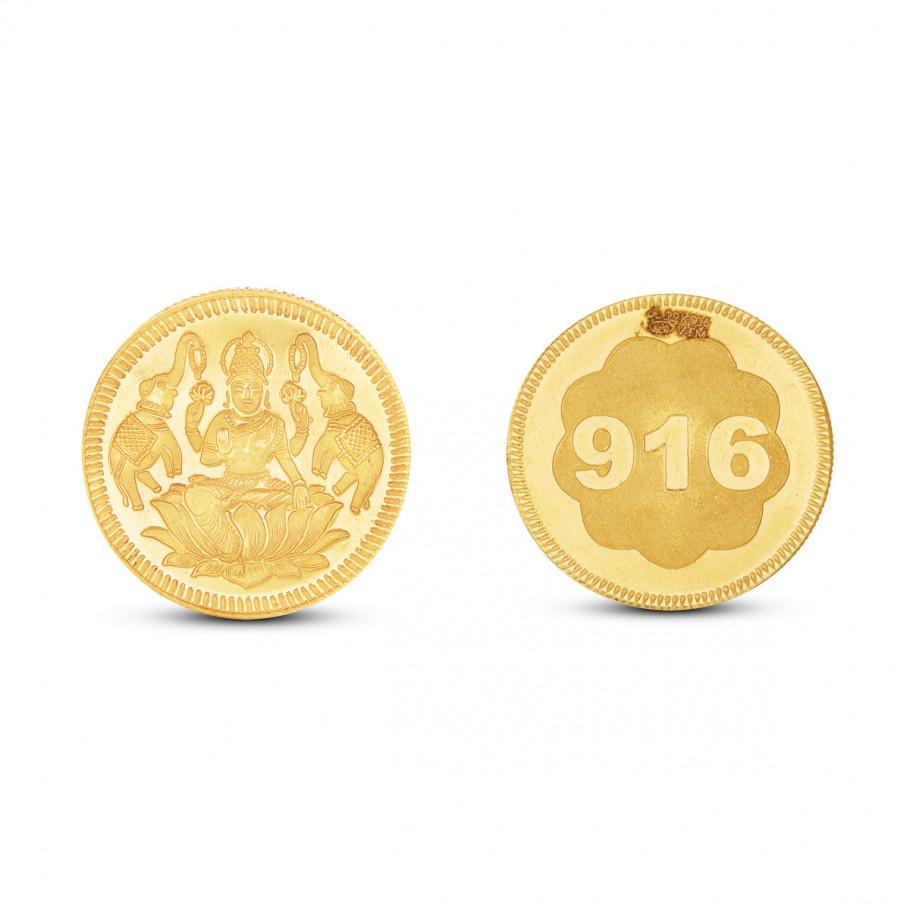 6 Gram Lakshmi Gold Coin