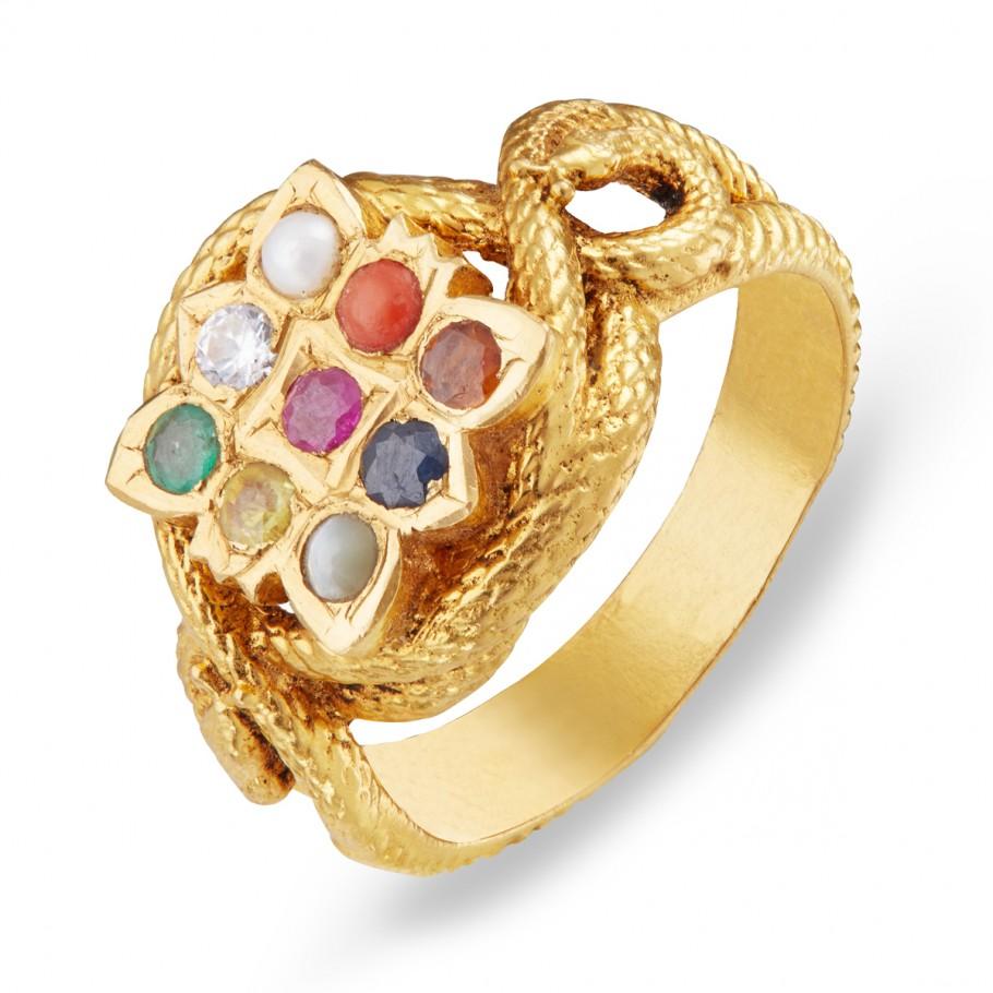 Buy Navarathnam Ring Svtm Jewels