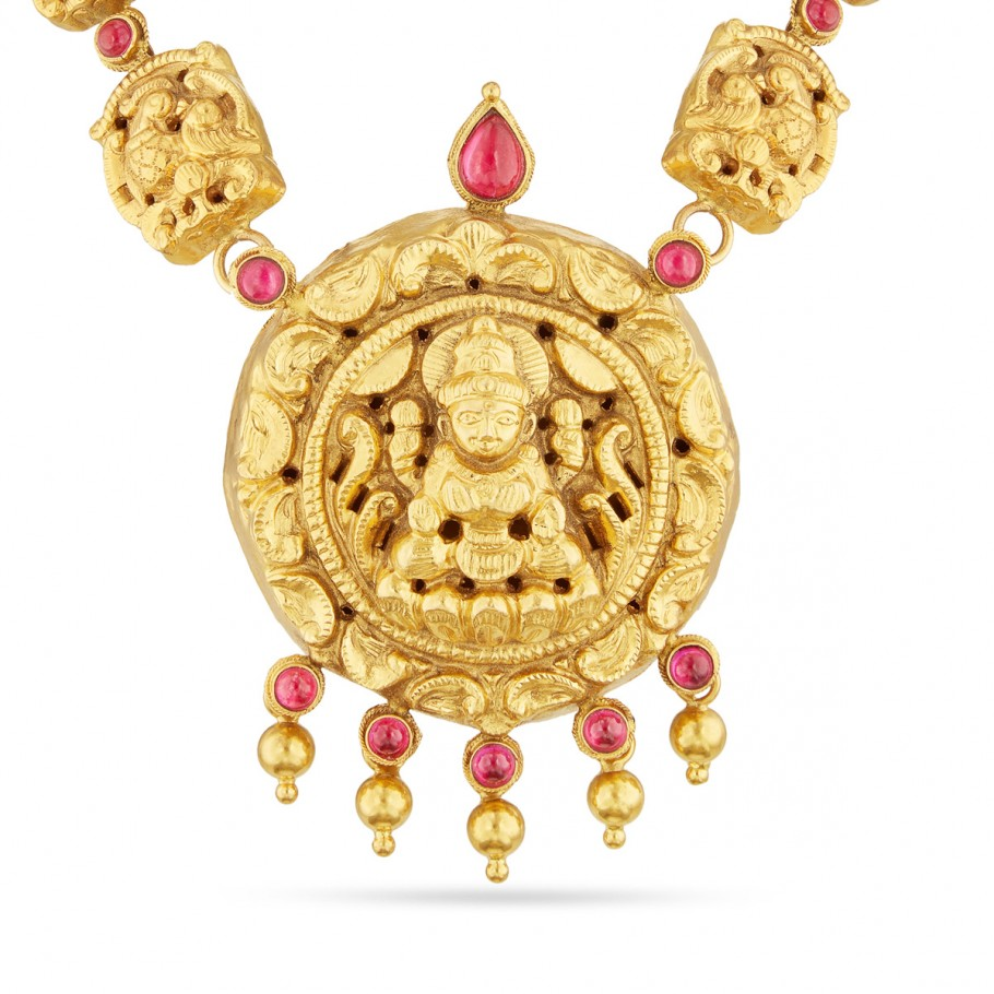 Mahalakshmi Nakas Necklace