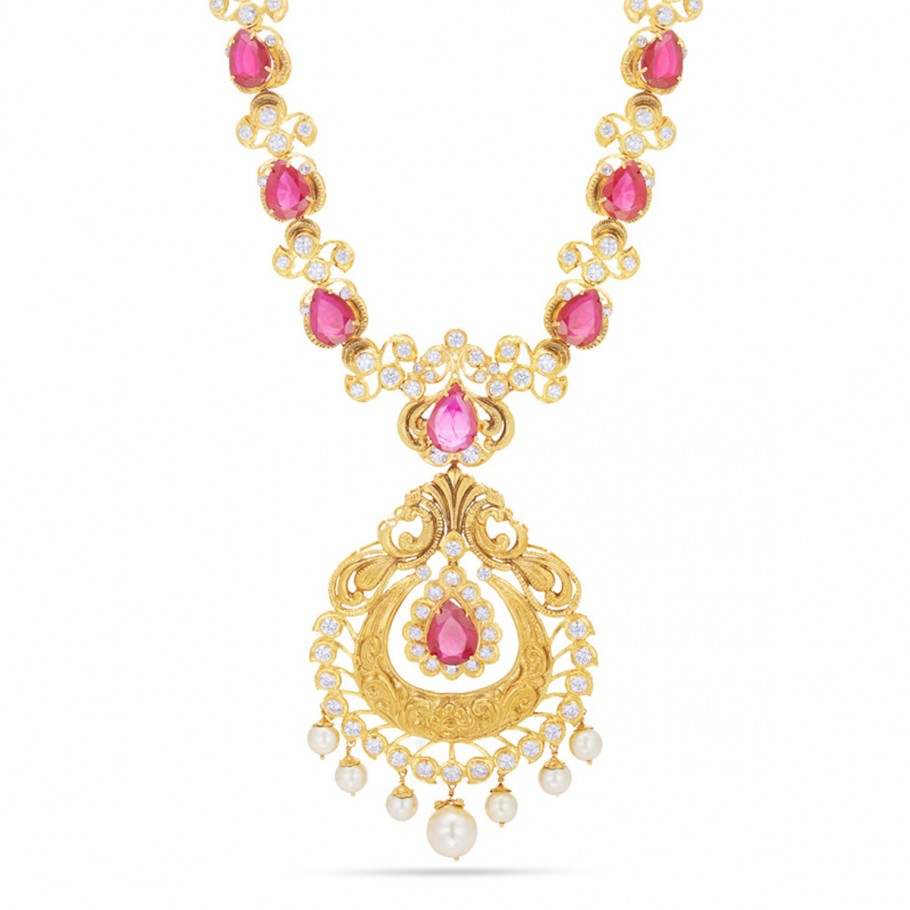 Mayura Ruby Necklace