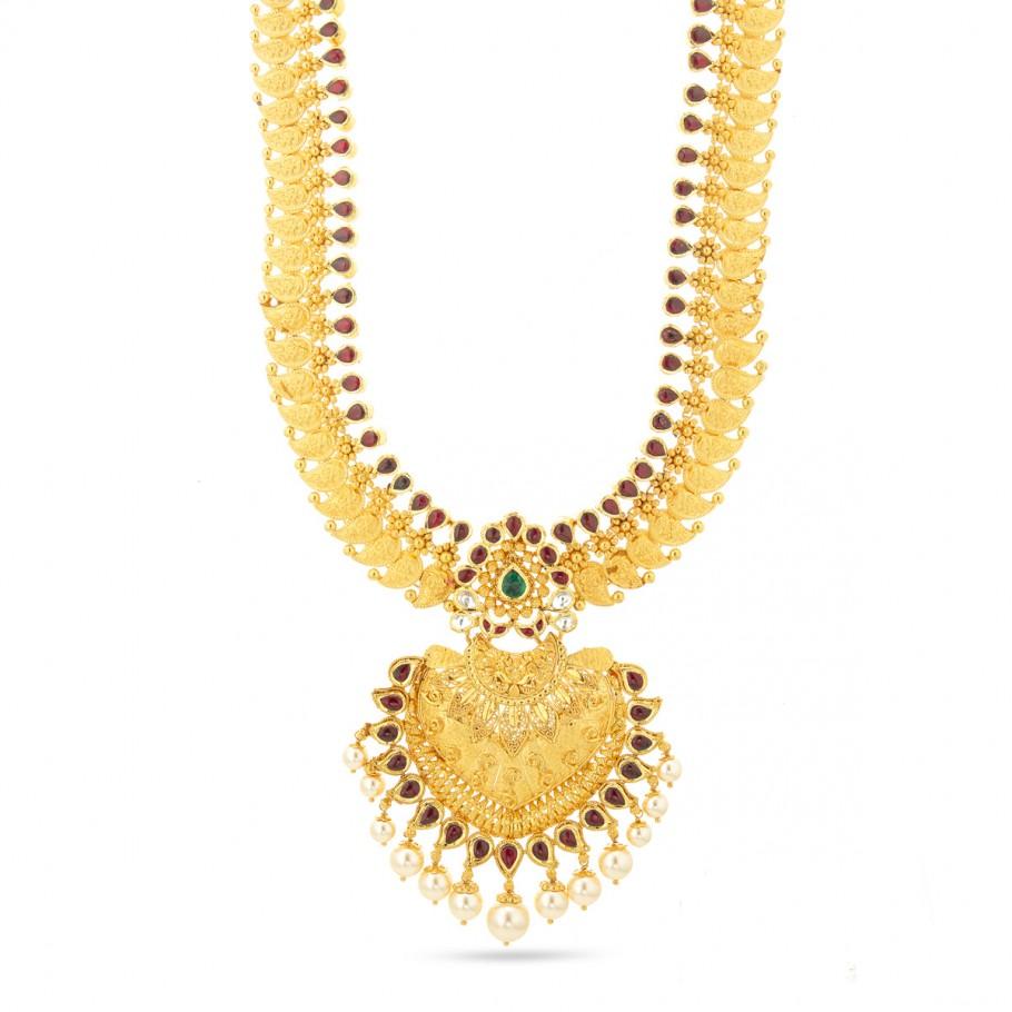Kundan&Pearl Necklace
