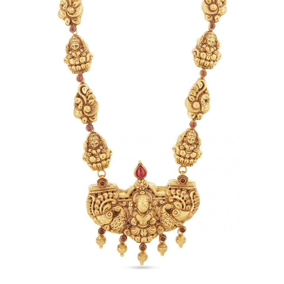 Antique Long Haram Necklaces Gold