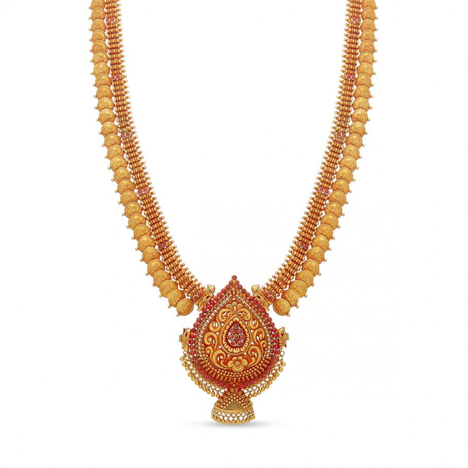 Alluring Antique Long Necklace