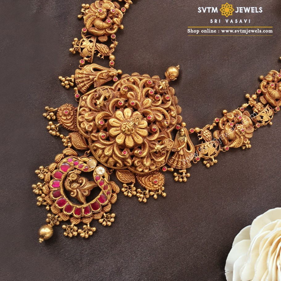 Magnificant Mayur necklace