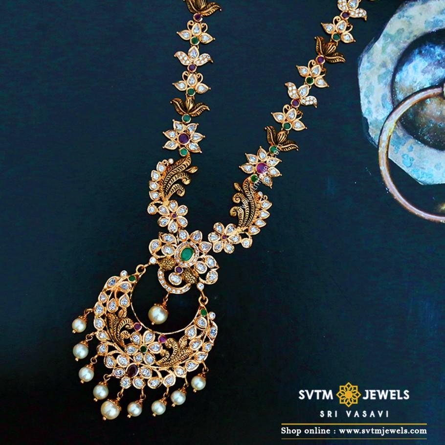 Chandbali Style Necklace