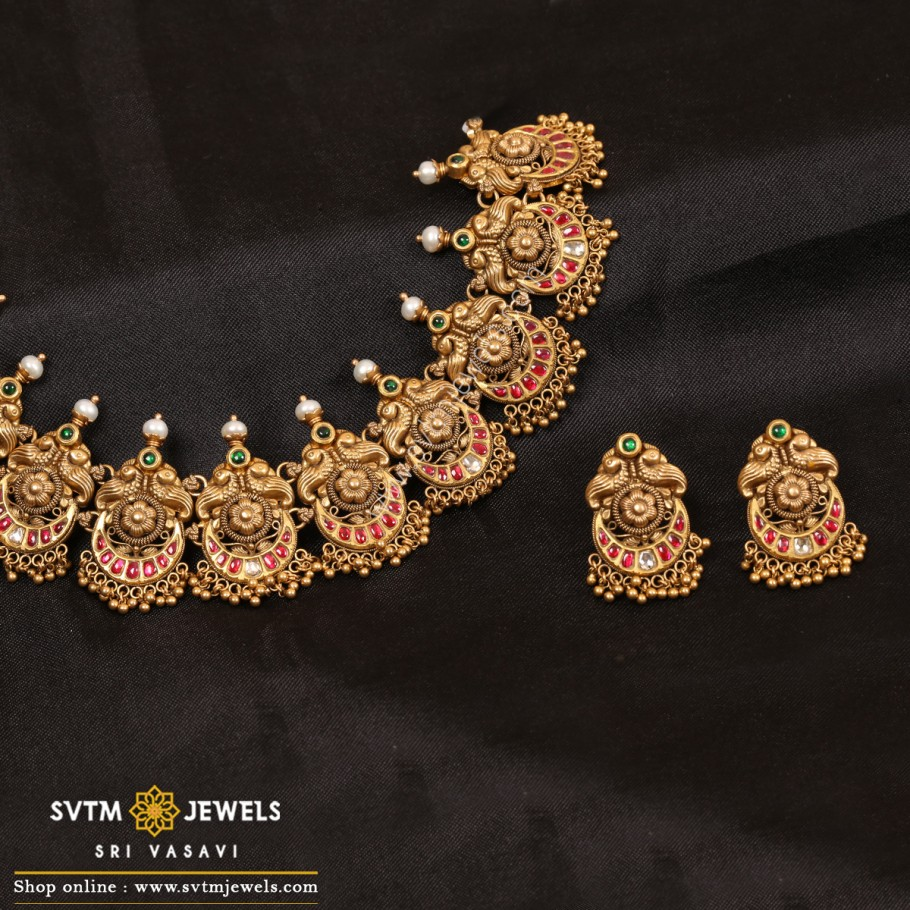 Silvana Mayur Necklace Set