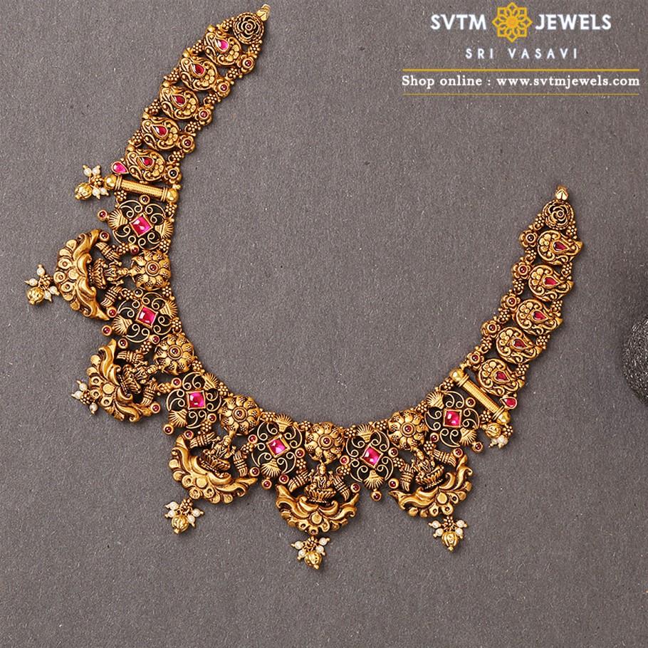 Diksha Devi Short Necklace